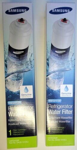2 x Samsung refrigerator replacement HAFEX/EXP fridge water filter