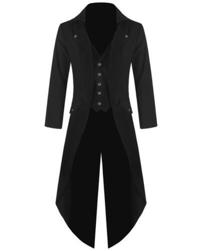 Steampunk Giacca Gothic vittoriano Mens Tailcoat Multi Colour stile d5XOvqw