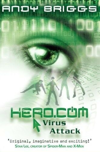 1 of 1 - Very Good, HERO.COM 2: Virus Attack, Andy Briggs, Book