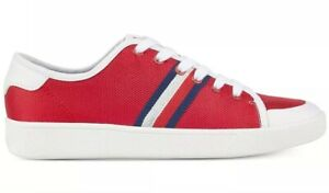 7a031c5c4 New Tommy Hilfiger Spruce lace up sneakers red stripes navy white ...