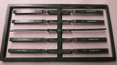 (h09/52) Märklin 8 X Originale Runge Würtemberg 46361 45096 Nuovo Top Costruzione Robusta