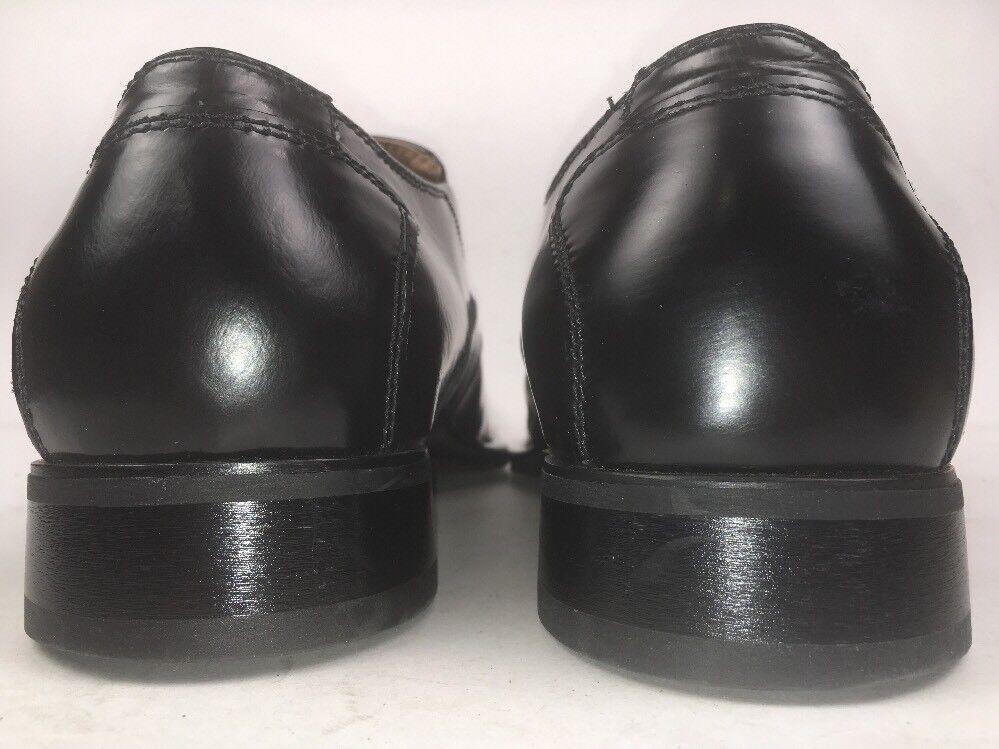 Monticelli schuhe Men's Men's Men's Square Toe Leather Slip On Größe 7.5M 55571e
