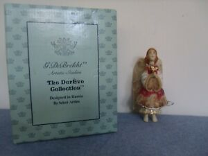 Nib G Debrekht The Derevo Collection Russian Ornament Giving Heart Angel Ebay