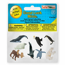 Arctic Pack Mini Good Luck Figures Safari Ltd NEW Toys Educational