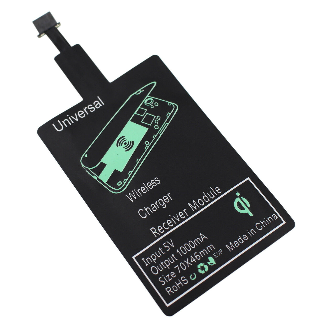 Qi Wireless Charging Receiver Charger Adapter Pad Module for LG Stylo 3