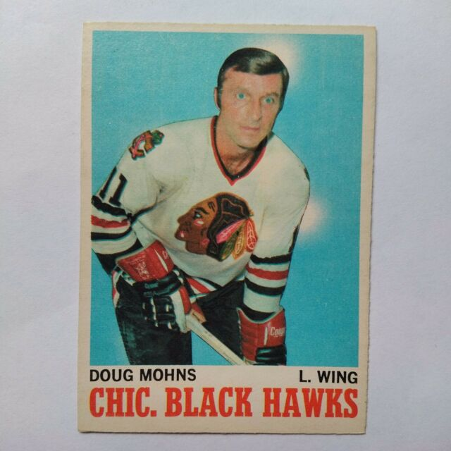 1970-71 OPC O-Pee-Chee #16 Doug Mohns Chicago Blackhawks - NM