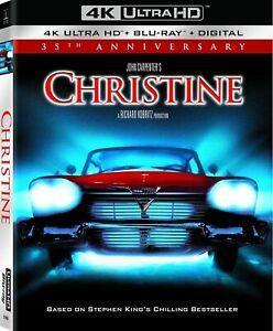 Christine [4k Blu-ray] New Free Shipping.