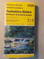 1985 ORDNANCE SURVEY OUTDOOR LEISURE MAP No 30 YORKSHIRE DALES NORTH & CENTRAL