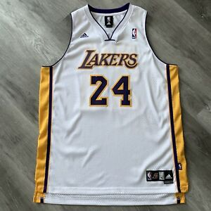Details about Authentic Kobe Bryant XL 48 Los Angeles Lakers Jersey adidas Swingman