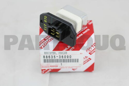 COOLER AIR DUCT 8863536090 Genuine Toyota RESISTOR NO.1 88635-36090