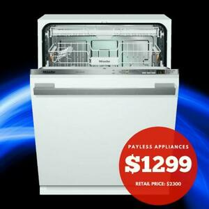 Miele Unboxed G4970SCVI Fully Integrated Panel Ready Dishwasher with 5 Wash Cycles Mississauga / Peel Region Toronto (GTA) Preview