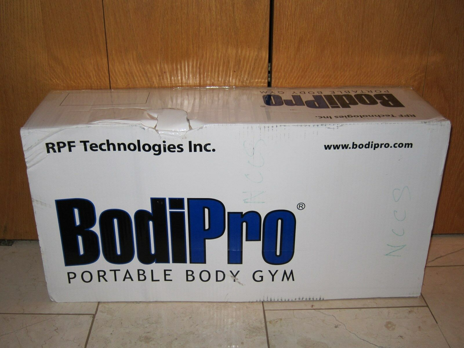 BODIPRO PORTABLE BODY GYM BY RPF TECHNOLOGIES INC BRAND NEW NEVER USED