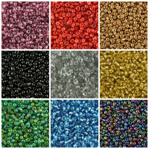 GLASS SEED BEADS 11//0-2mm