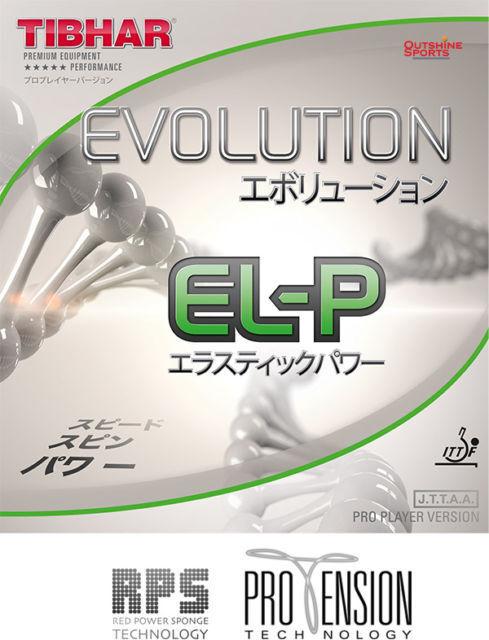 TIBHAR Evolution EL-P Table Tennis Rubber