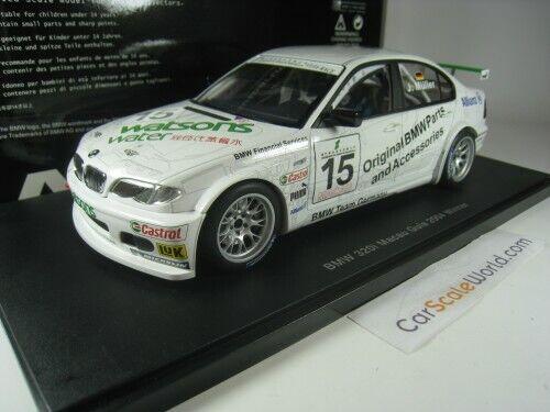 Bmw 320i e46  15 macau guia race 2004 winner j. muller 1 18 autoart