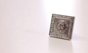 50p Chaque 12 Pièce De Rechange Large 18 Mm Boutons Prince Charlie Argyll Vestes Chrome-afficher Le Titre D'origine