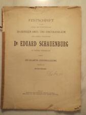 Festschrift Dr. Eduard Schauenburg - 1893 - Platen