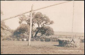 GRAND-PRE-NOVA-SCOTIA-Evangeline-039-s-Well-Vintage-RPPC-Postcard-Old-Photo