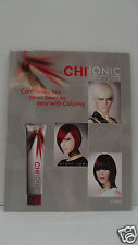 CHI IONIC Ammonia Free Permanent Hair Color 'POSTER' SWATCH CHART For Wall