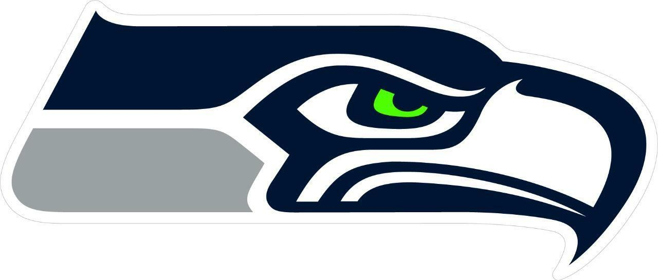 Football Seattle Team Wall Decals Art 3D Smashed Custom Fan Seahawks Wall Decor Bedroom Garage Removable Vinyl Wall Stickers Gift WL149