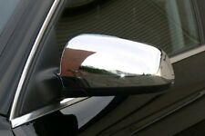 AUDI A3 8P 2003-08 CHROME SIDE MIRROR COVERS CAPS WINGS SLINE QUATTRO SPORTBACK