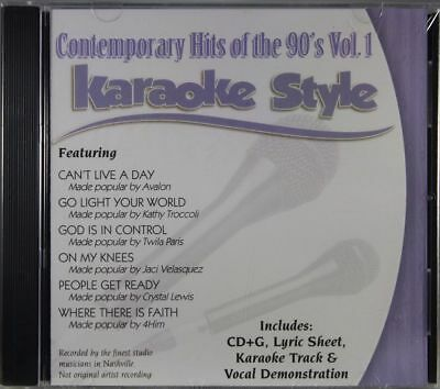 Musical Instruments & Gear 2019 New Style Contemporary Hits Of The 90's Volume 1 Karaoke Style New Cd+g Daywind 6 Songs