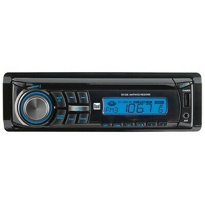 Dual XD1228 AM//FM//CD//AUX Front Panel Auto Stereo LCD Car In-Dash Unit