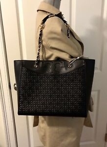 4cdac67e9055 Image is loading NWT-Tory-Burch-Bryant-Quilted-Leather-Tote-Shoulder-