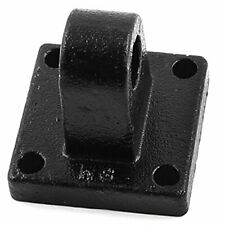 Metal H6 6mm Fixing Hole Dia Air Cylinder Rod Pivot Clevis Mounting Bracket