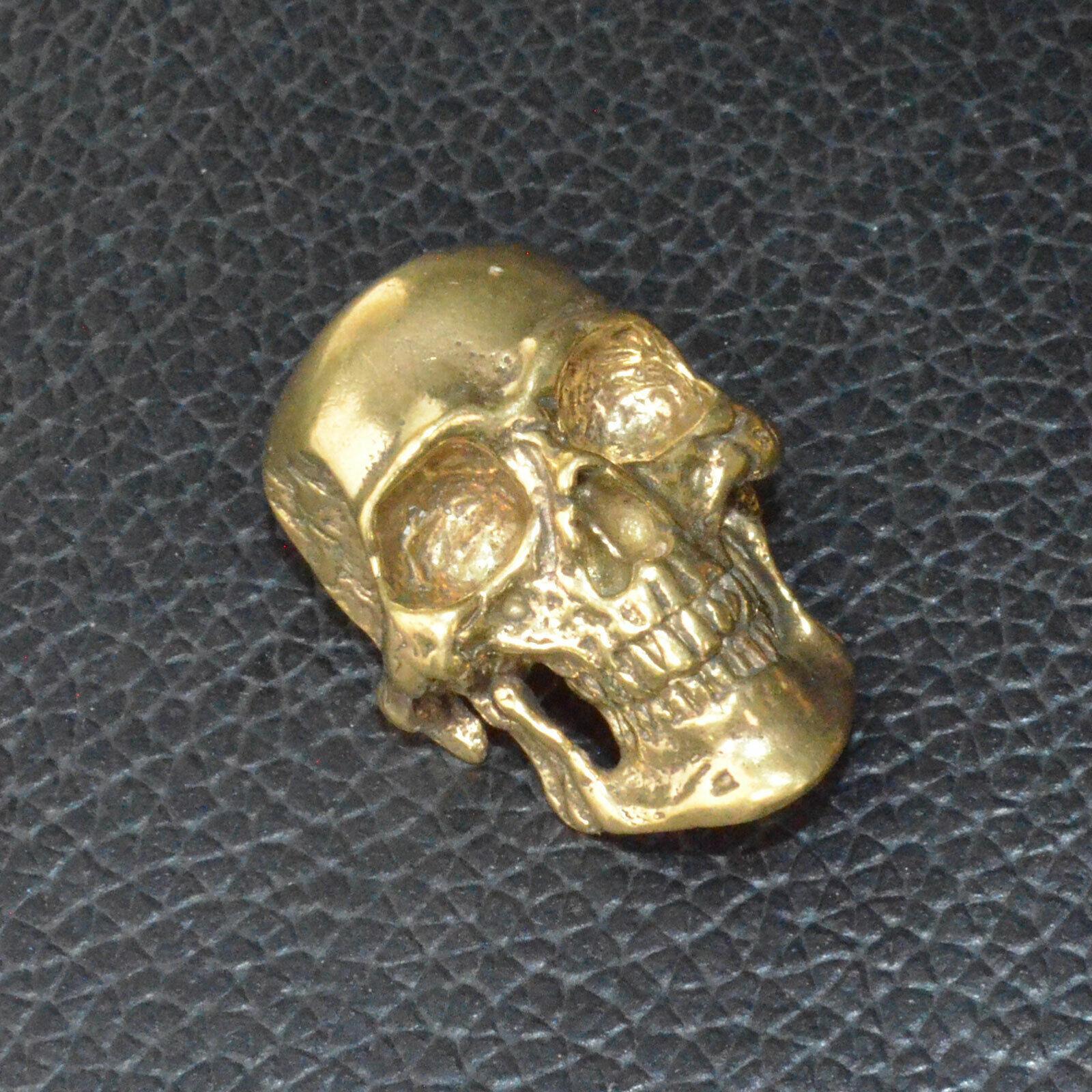DIY Copper Screwback Leather Crafts Skull Punk Design Making Accessories
