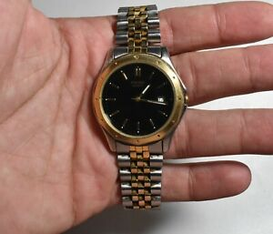 Vintage Pulsar Quartz Watch V722-7A10 Water Resistant Collectible(Working)