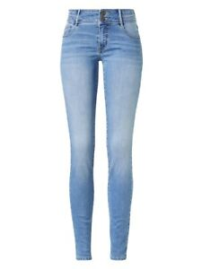 Paddocks Lucy Mid Blue Used 60270 3285.5922 - Skinny Fit Stretch Jeans Ladies