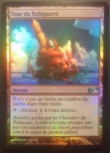 Tour-du-reliquaire-PREMIUM-FOIL-VF-French-Reliquary-Tower-Mtg-Magic-NM