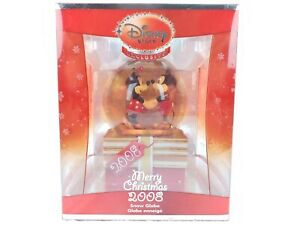 Disney-Mickey-Mouse-2008-Mickey-amp-Minnie-Exclusive-Snow-Globe