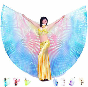 C91302-Isis-Wing-rear-closed-Veil-Belly-Dancing-Costume-oriental-Decor