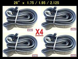 26-034-Bicycle-Bike-Cycle-26x1-75-2-125-Inner-Tube-New-x4-Free-Shipping