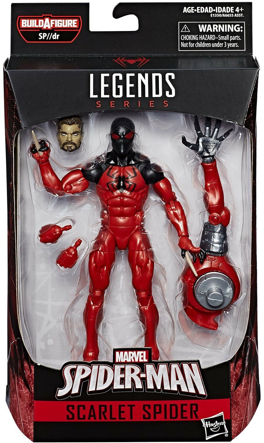 Marvel Legends Infinite SP//dr Suit Series Scarlet Spider Action Figure