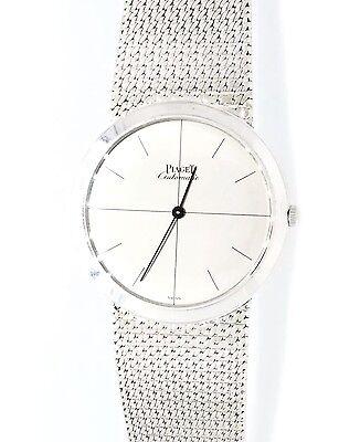 18K White Gold PIAGET  34mm Automatic Watch Circa 1960- HM1532