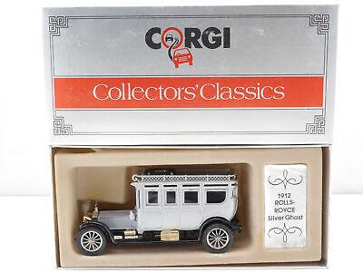PräZise Corgi C860 Rolls-royce Silver Ghost 1912 Silber 1:43 Top! Ovp 1607-23-80 Angenehm Bis Zum Gaumen