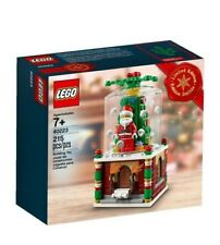 New LEGO Snowglobe 40223 Limited edition Christmas 2016 Santa Claus 40206 Toy