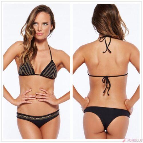 Costume Da Bagno Aperto Bikini Lacci Vita Bassa slim sling Swimwear Swimsuit M