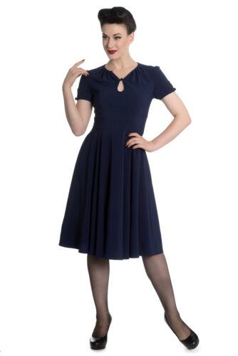 Hell Bunny riley 50er années rétro vintage rockabilly pin up jupon robe
