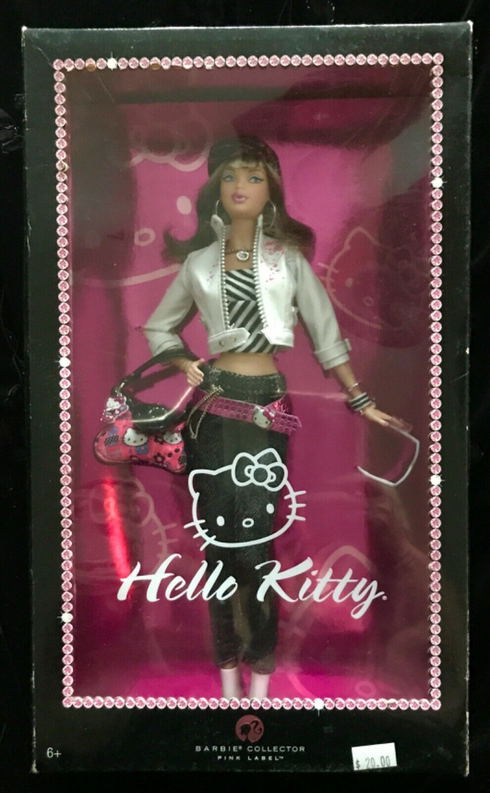 Barbie  HELLO KITTY Pink Label 2007  L4687 NRFB