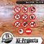Verbotaufkleber-5x5cm-Warnung-Achtung-Verboten-Aufkleber-Sticker-Set-Paket Indexbild 1