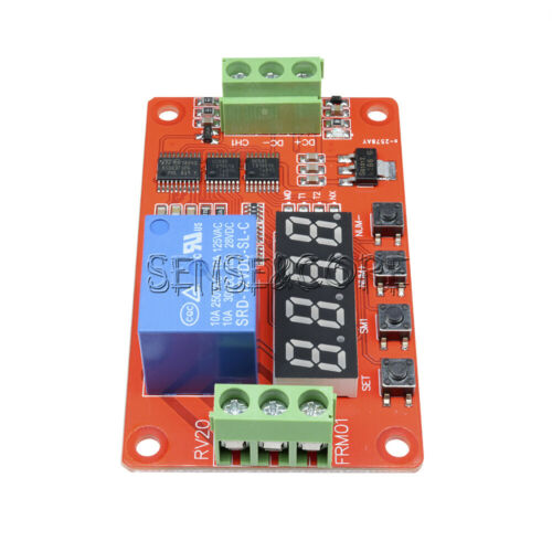 12V Relay Cycle Timer Module PLC Home Automation Delay Multifunction CLOCK