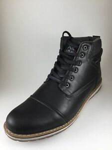 8aa28f9b2e2 Details about Xray Men's Kimball XRW 325 Lace up Ankle Boots Black Size 13