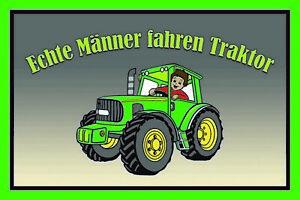 Genuino-Hombre-Conducir-Tractor-Letrero-de-Metal-Cartel-Lata-20-X-30cm-CC0947