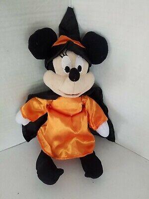 "Disney Minnie Mouse Plush Halloween Witch Toy 8"" Toy ..."