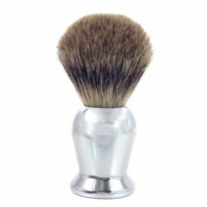 Badger-Hair-Shaving-Brush-Chrome-Handle