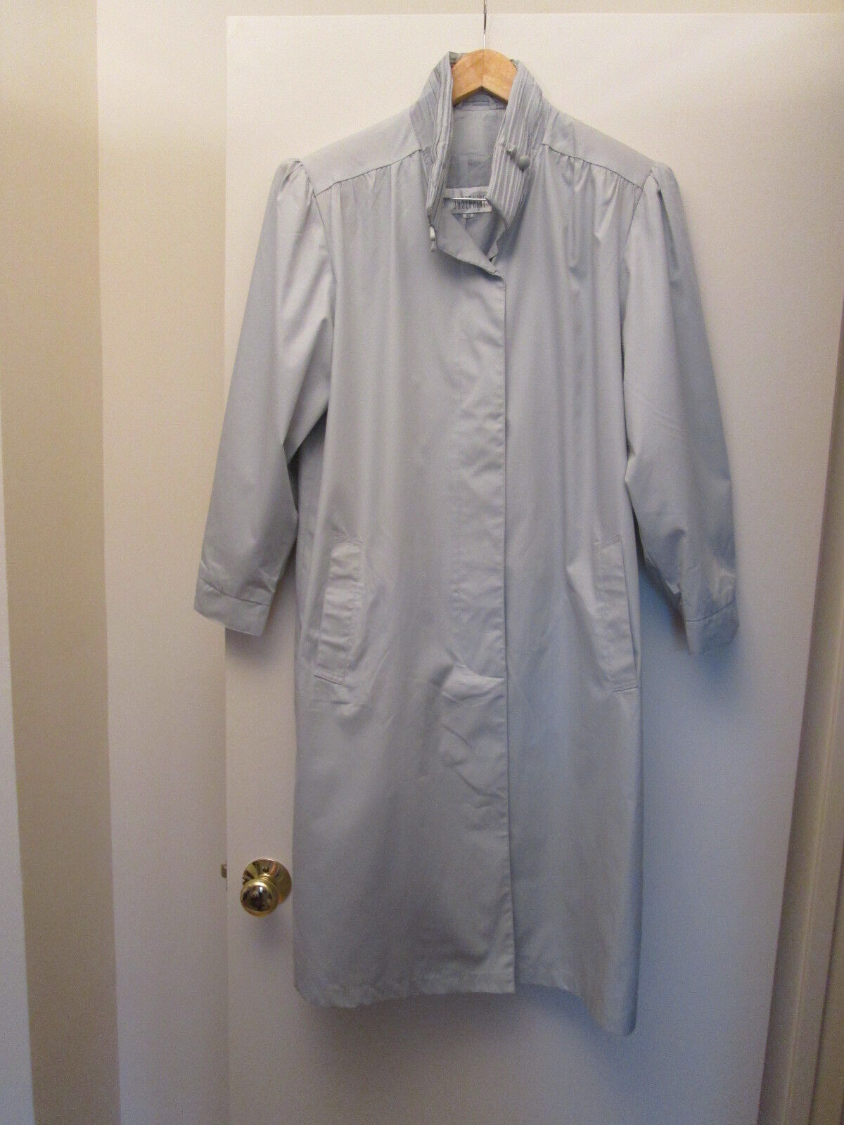 New w o Tags Women's European Style Trench Coat Size 48 US L